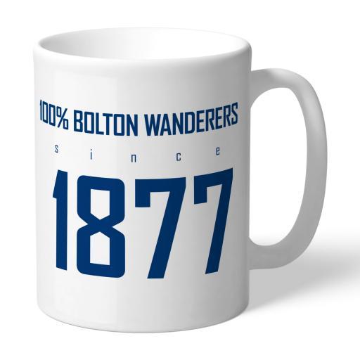 Bolton Wanderers FC 100 Percent Mug