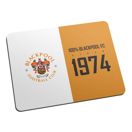Blackpool FC 100 Percent Mouse Mat