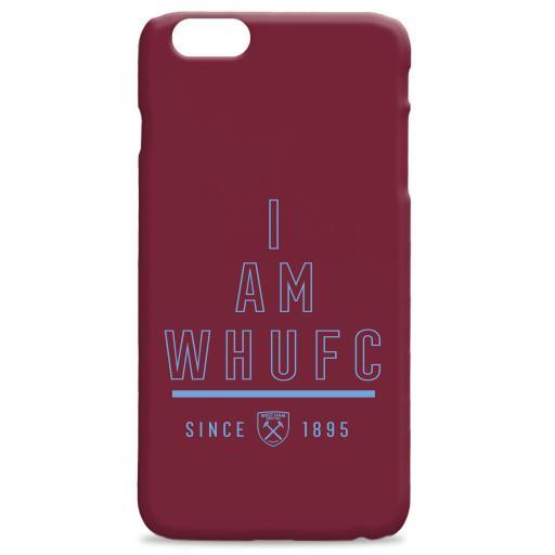 West Ham I Am Phone Case