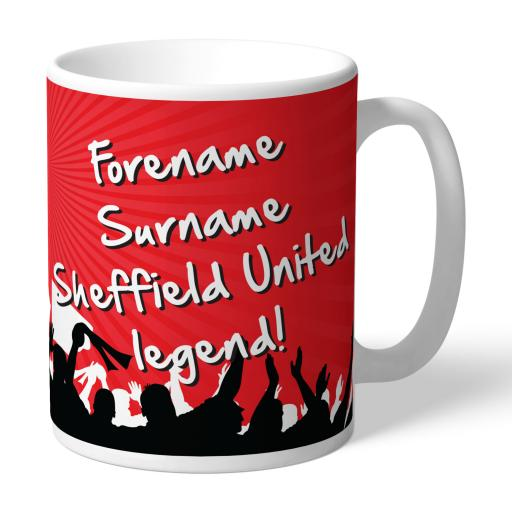 Sheffield United FC Legend Mug