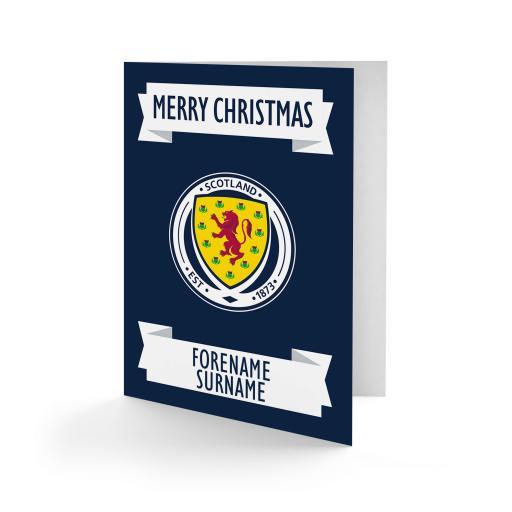 Scotland Crest Christmas Card