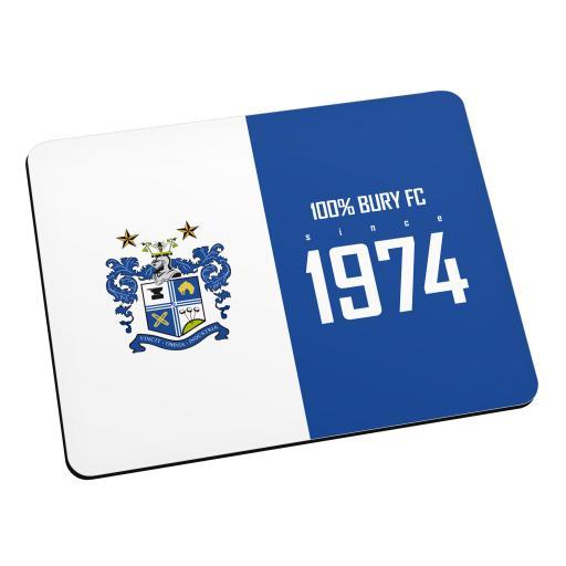 Bury FC 100 Percent Mouse Mat