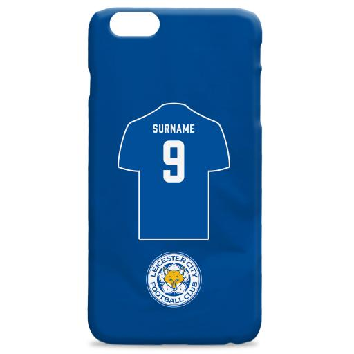 Leicester City FC Shirt Hard Back Phone Case