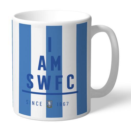 Personalised Sheffield Wednesday I Am Mug.
