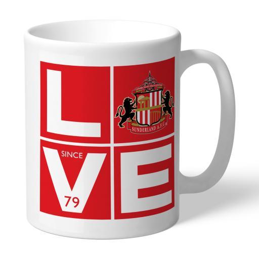Sunderland Love Mug