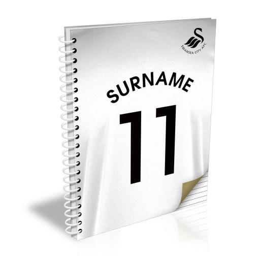 Swansea City AFC Shirt Notebook