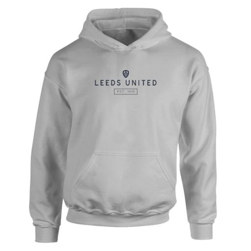 Personalised Leeds United FC Minimal Hoodie.