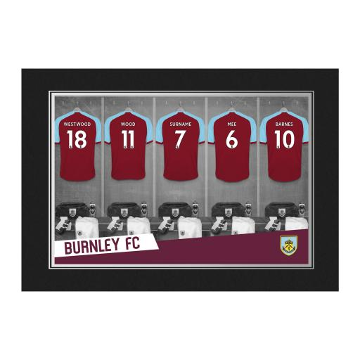 Burnley FC 9x6 Dressing Room Photo