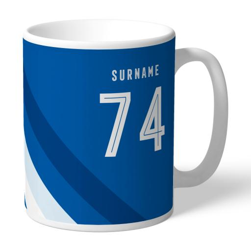 Cardiff City Stripe Mug