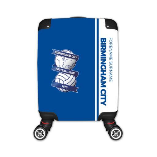 Personalised Birmingham City Crest Kid's Suitcase.