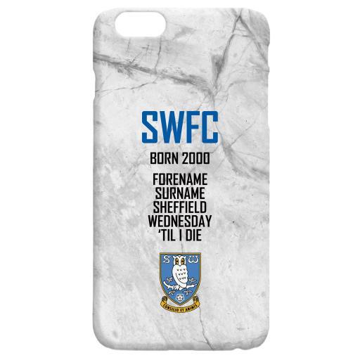 Sheffield Wednesday FC 'Til I Die Hard Back Phone Case