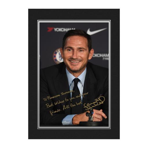 Chelsea FC Manager Autograph Photo Folder