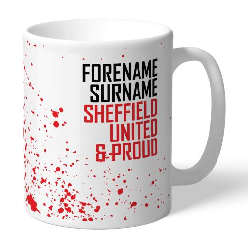 Sheffield United FC Proud Mug