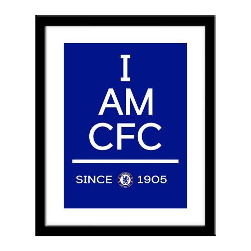 Chelsea FC I Am Print