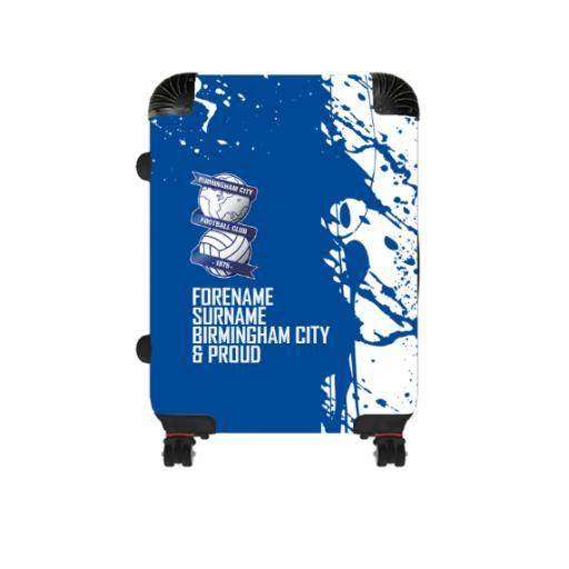 Personalised Birmingham City Proud Cabin Suitcase.