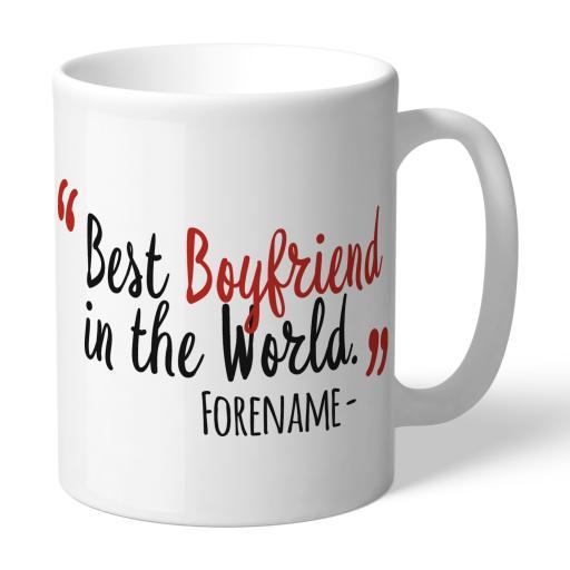 Nottingham Forest Best Boyfriend In The World Mug