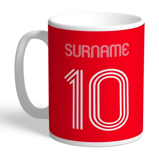 Nottingham Forest FC Retro Shirt Mug