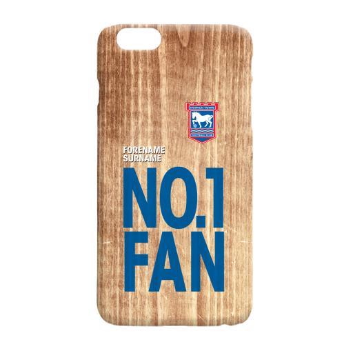Ipswich Town FC No 1 Fan Hard Back Phone Case