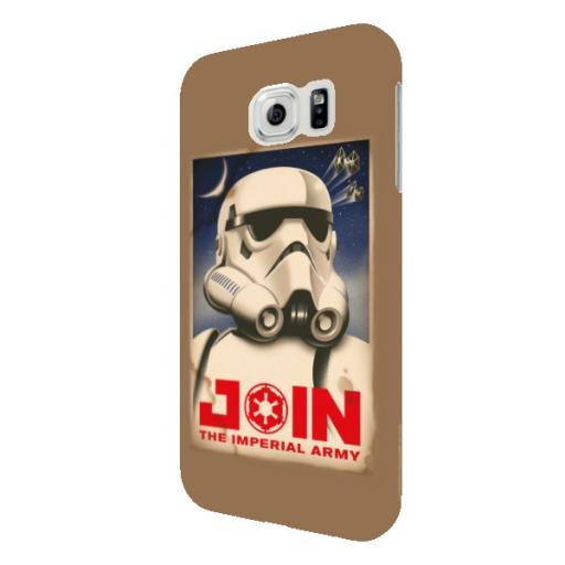 "Star Wars Rebels ""Join The Imperial Army"" Samsung Galaxy S6 Phone Case"