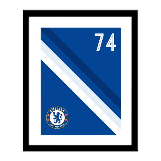Chelsea FC Stripe Print