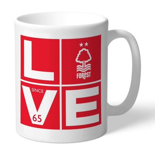 Nottingham Forest Love Mug