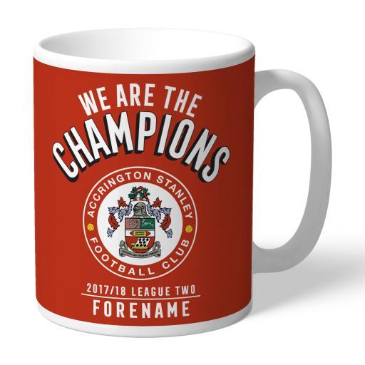 Accrington Stanley FC Champions Mug