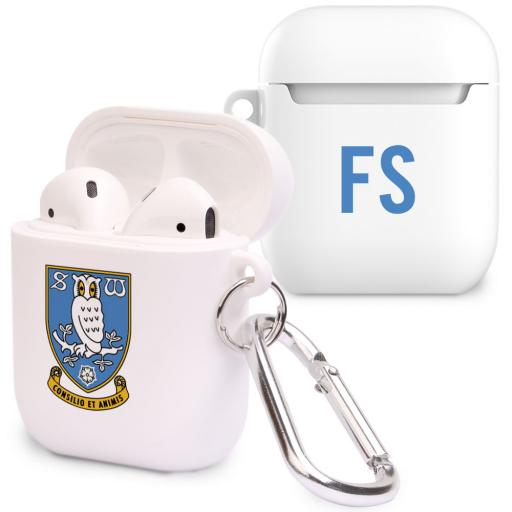 Sheffield Wednesday FC Initials Airpod Case