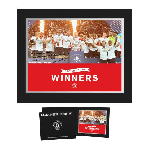 Manchester United FC FA Cup Winners 2016 Photo Folder
