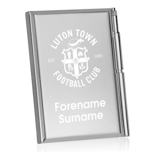 Luton Town FC Crest Address Book