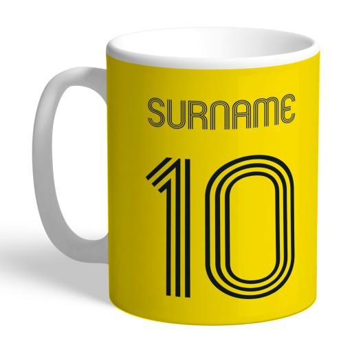Watford FC Retro Shirt Mug