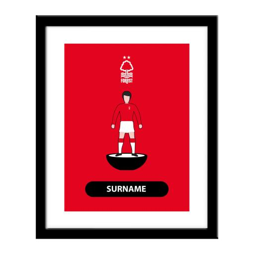 Nottingham Forest FC Player Figure Print
