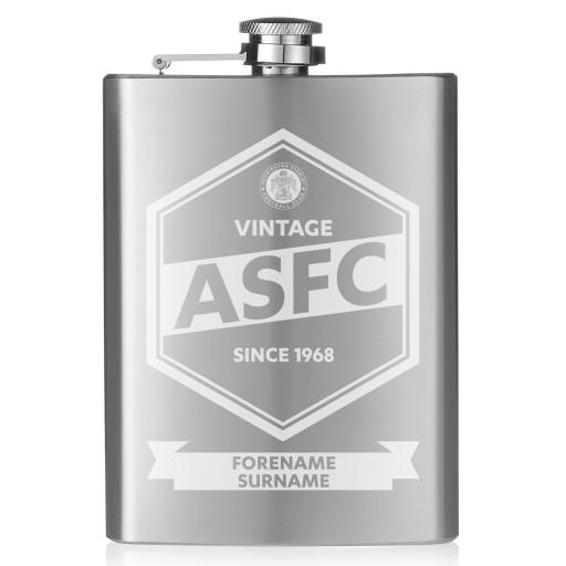 Accrington Stanley Vintage Hip Flask