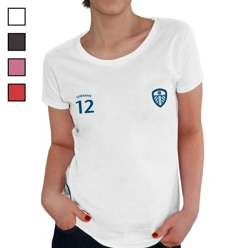 Leeds United FC Ladies Sports T-Shirt