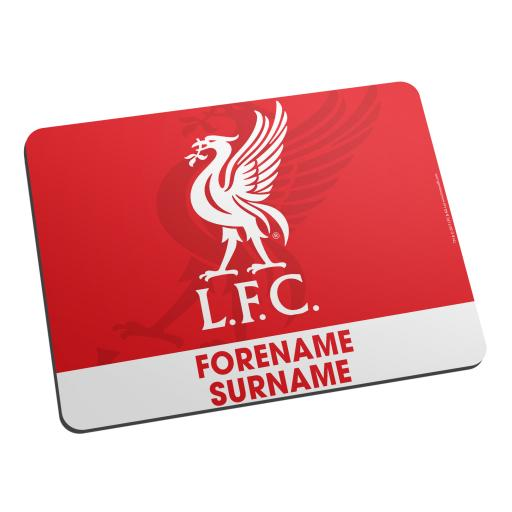 Liverpool FC Bold Crest Mouse Mat
