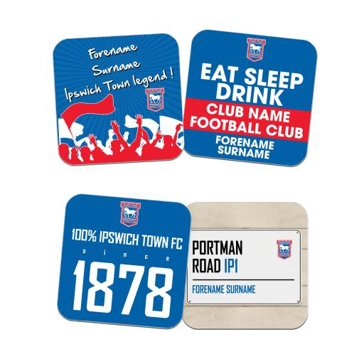 Ipswich Town FC Coasters