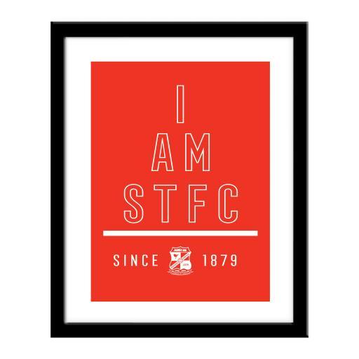 Swindon Town I Am Print