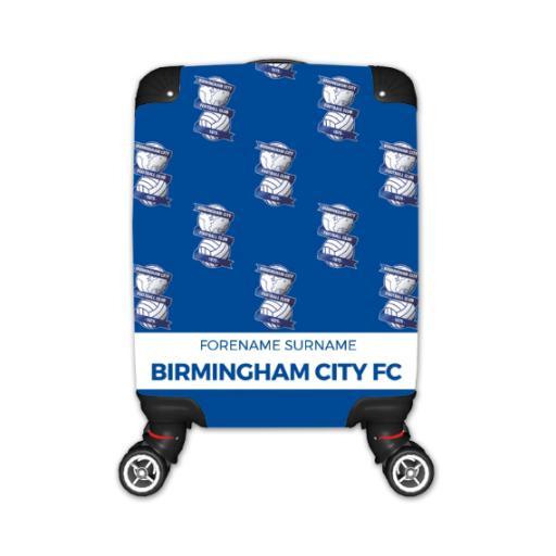 Personalised Birmingham City Mini Crest Kid's Suitcase.