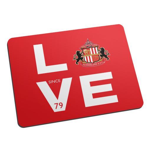 Sunderland Love Mouse Mat