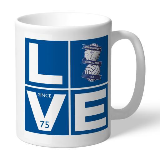 Personalised Birmingham City Love Mug.