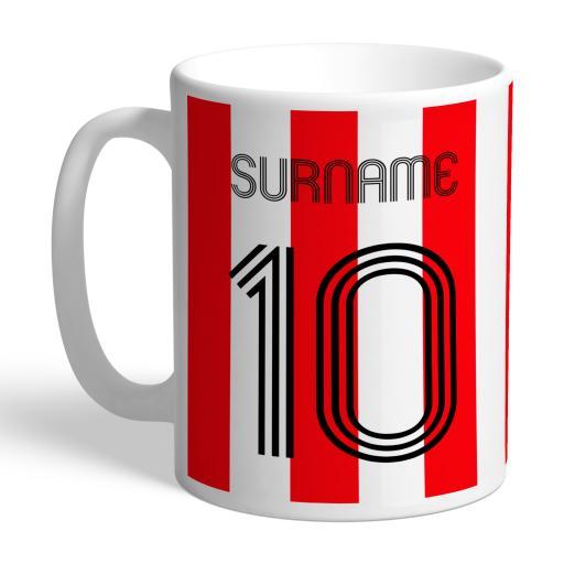 Sunderland AFC Retro Shirt Mug
