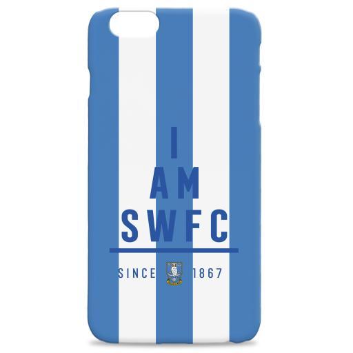 Personalised Sheffield Wednesday I Am Phone Case.