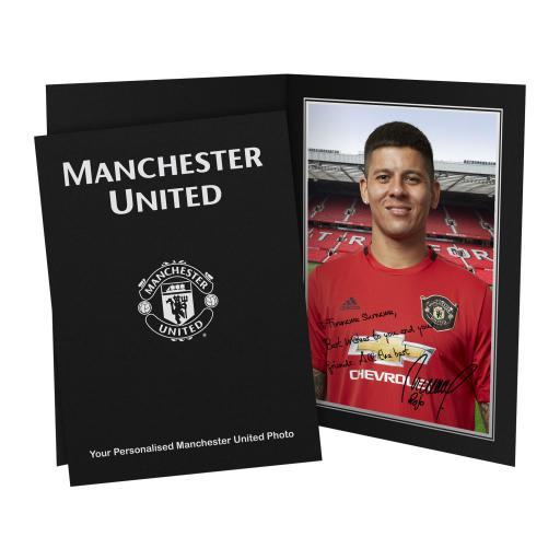 Manchester United FC Rojo Autograph Photo Folder