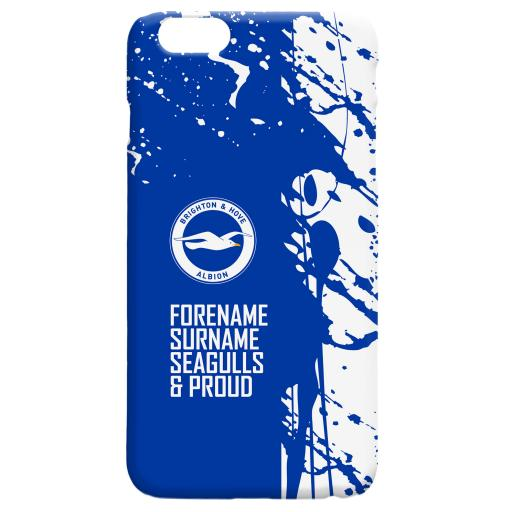 Brighton & Hove Albion FC Proud Hard Back Phone Case