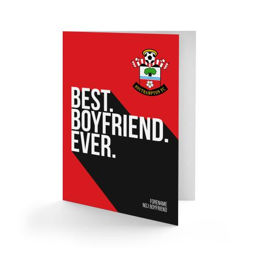 Southampton FC Best Boyfriend Ever Card