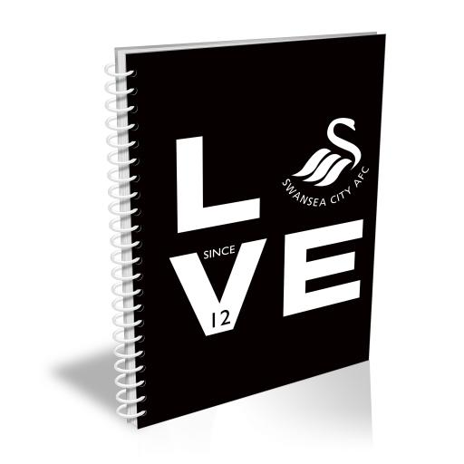 Swansea City AFC Love Notebook