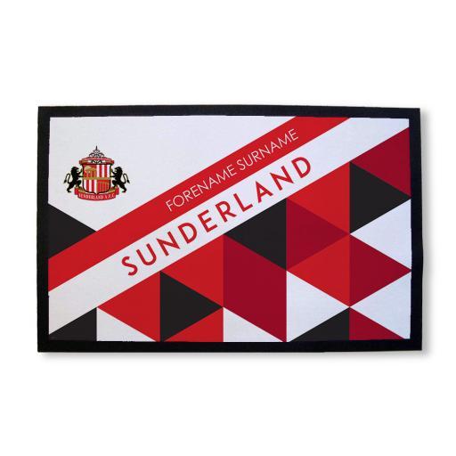 Sunderland AFC Patterned Door Mat