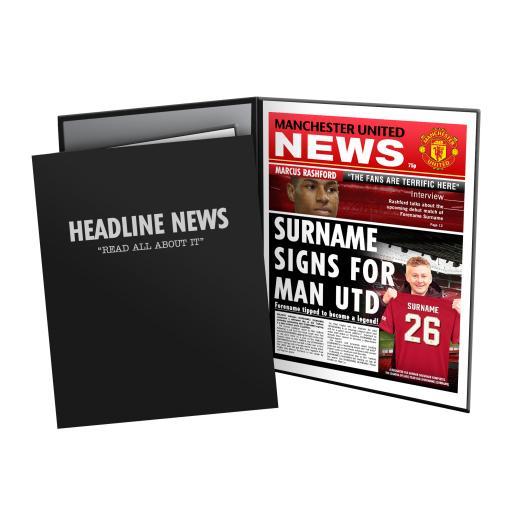 Manchester United FC News Folder