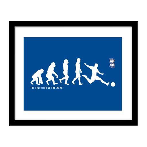 Birmingham City Evolution Print