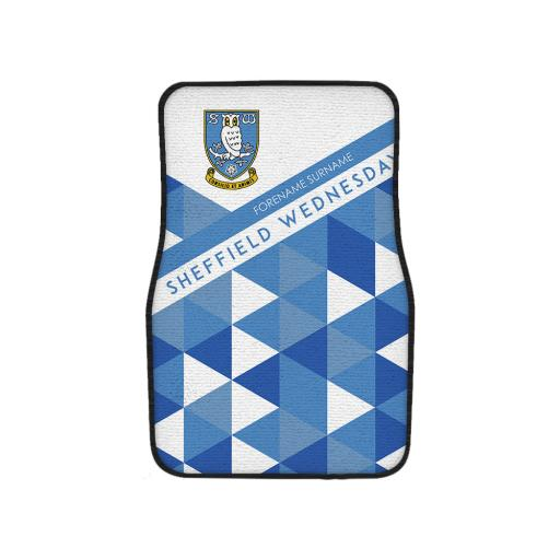 Sheffield Wednesday FC Patterned Front Car Mat