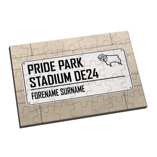 Derby County Street Sign Jigsaw